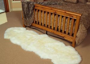 sheepskin rug double