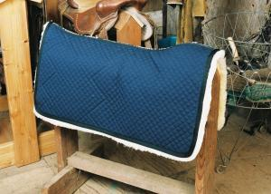 Western Saddle Blanket Blue