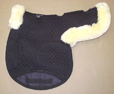 Contoured All Purpose Large Saddle Pad Vented