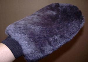 Sheepskin Grooming Washmitt Charcoal