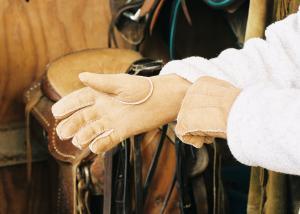 Sheepskin Gloves Tan