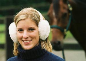 Sheepskin Ear Muffs White