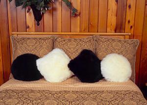 Sheepskin Pillows