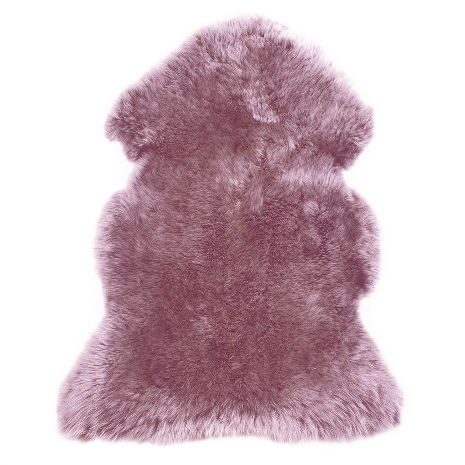 Sheepskin Rug Single Pelt Mauve