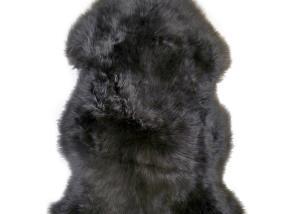 Sheepskin Rug Single Pelt Pewter