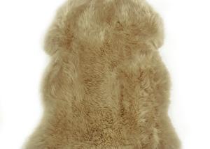 Sheepskin Rug Single Pelt Tan