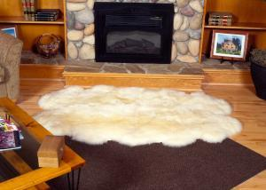 4 Pelt Sheepskin rug