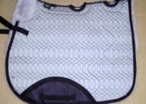 Full Quilted All Purpose Saddle Pad Silver