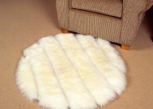 Designer Sheepskin Rug Round