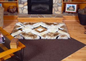 Designer Sheepskin Rug Essex