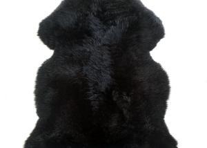 Sheepskin Rug Single Pelt Black