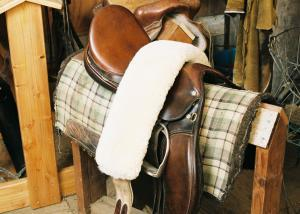 "Girth Strap Cover Dressage/All Purpose 31.5"" x 4.75"""