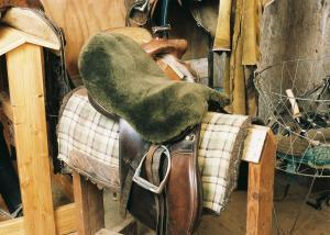 All Purpose / Dressage Saddle Seat Cover Brown