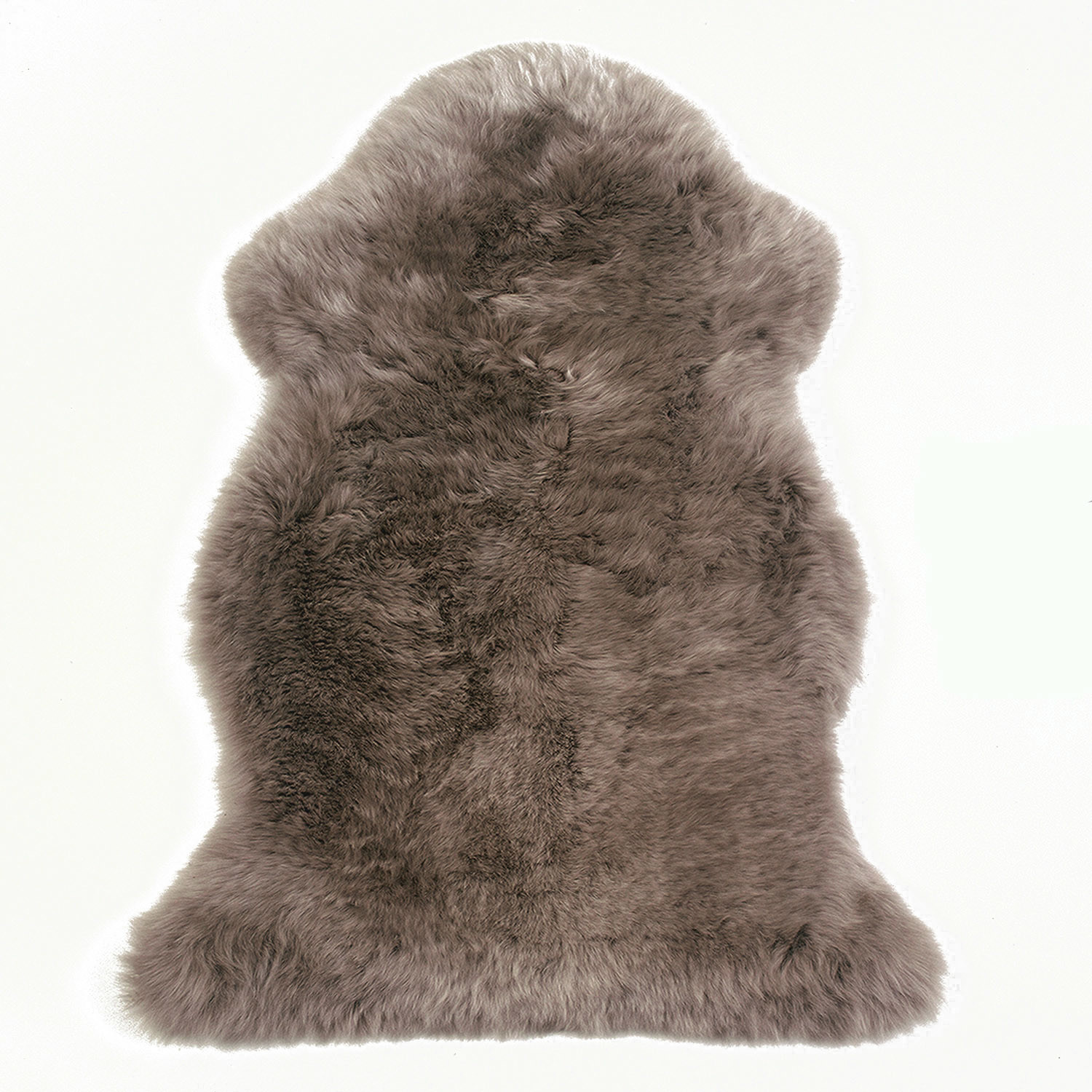 Sheepskin Rug Single Pelt Taupe